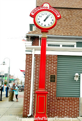 Wildwood Museum Town Clock in New Jersey