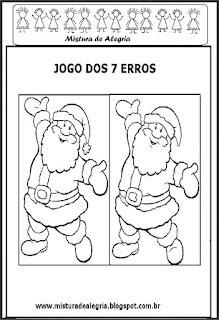 Natal-Jogo dos 7 erros