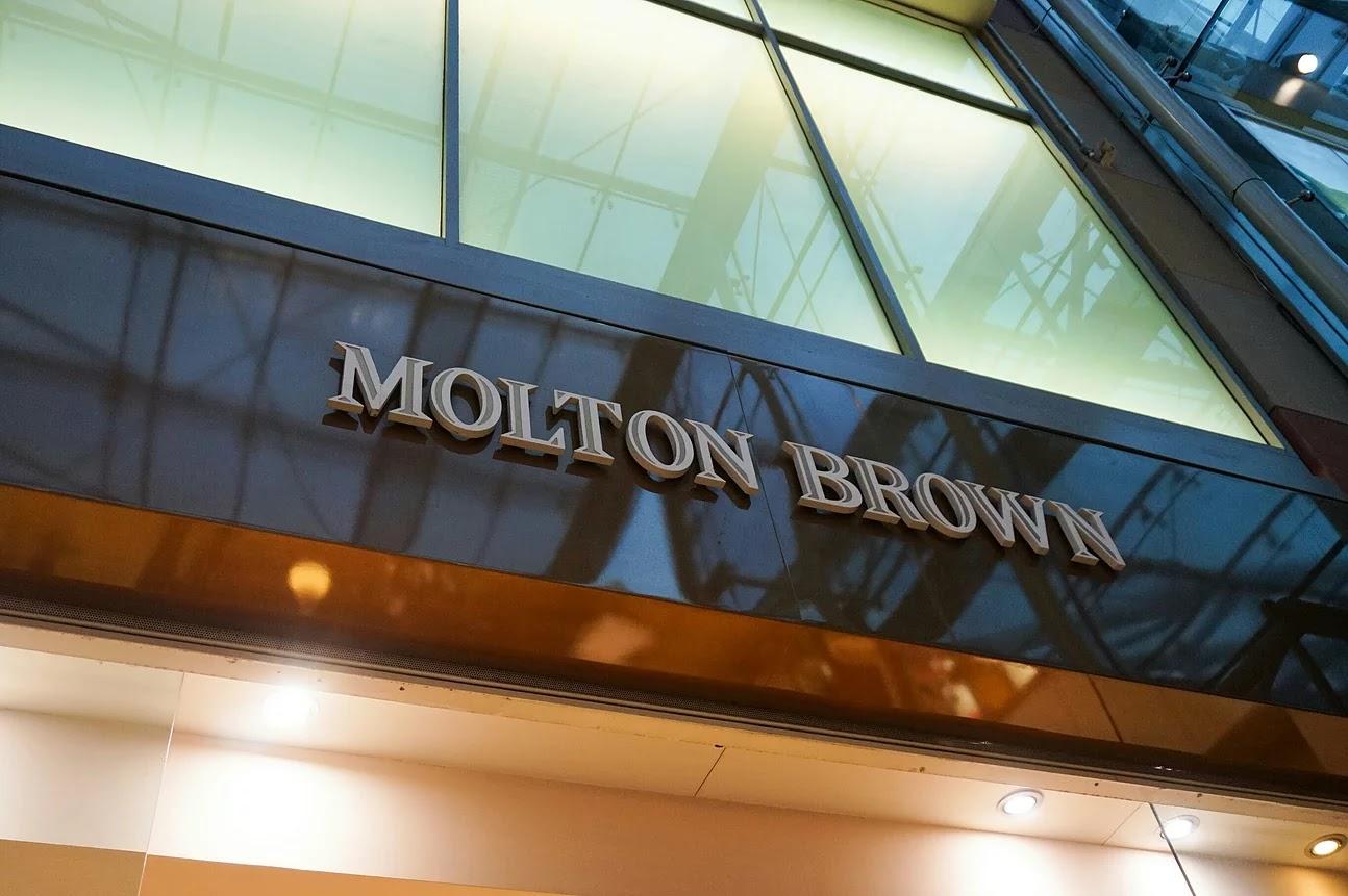 Molton Brown store logo Birmingham Bullring