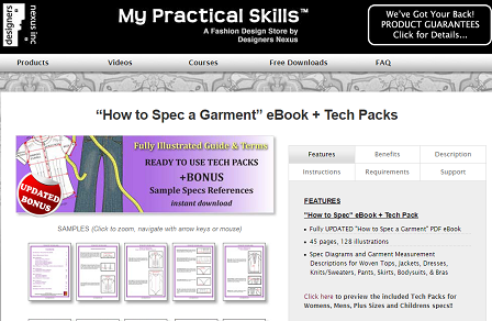 8 Resources To Learn About Garment Specification Sheet And Template