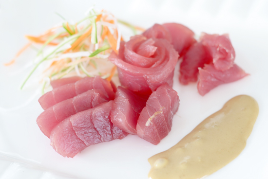Tuna Sashimi,Dinagat Resto Bar, GMall Toril, Davao City