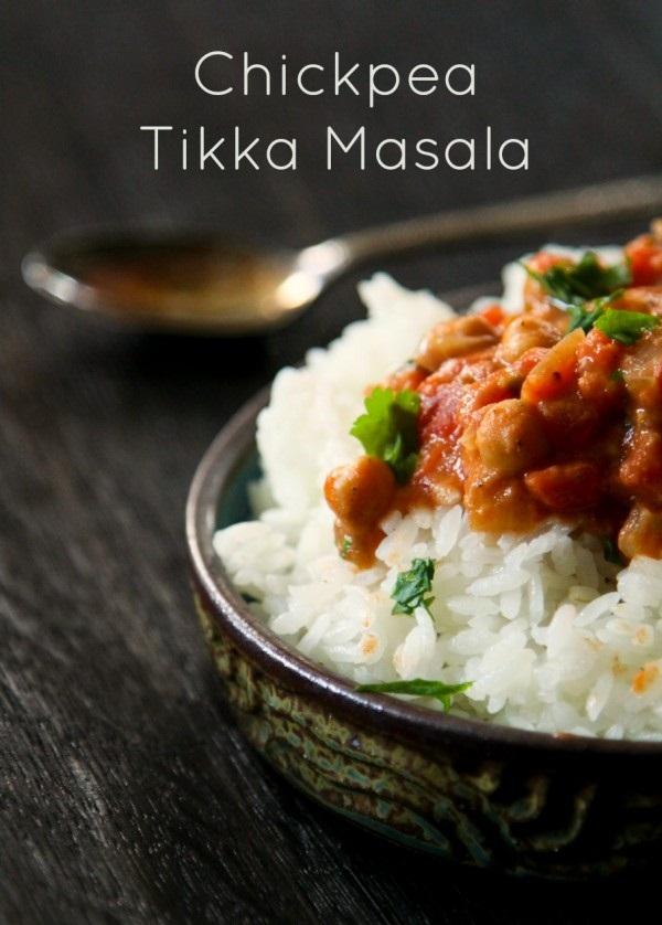#Recipe : Chickpea Tikka Masala