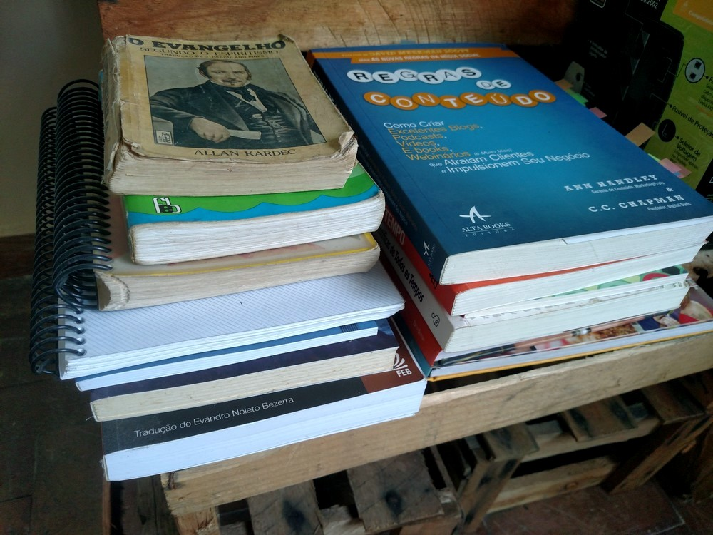 Semana 1: Livros - Série 1 Ano de Destralhe
