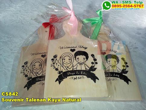 Toko Souvenir Talenan Kayu Natural