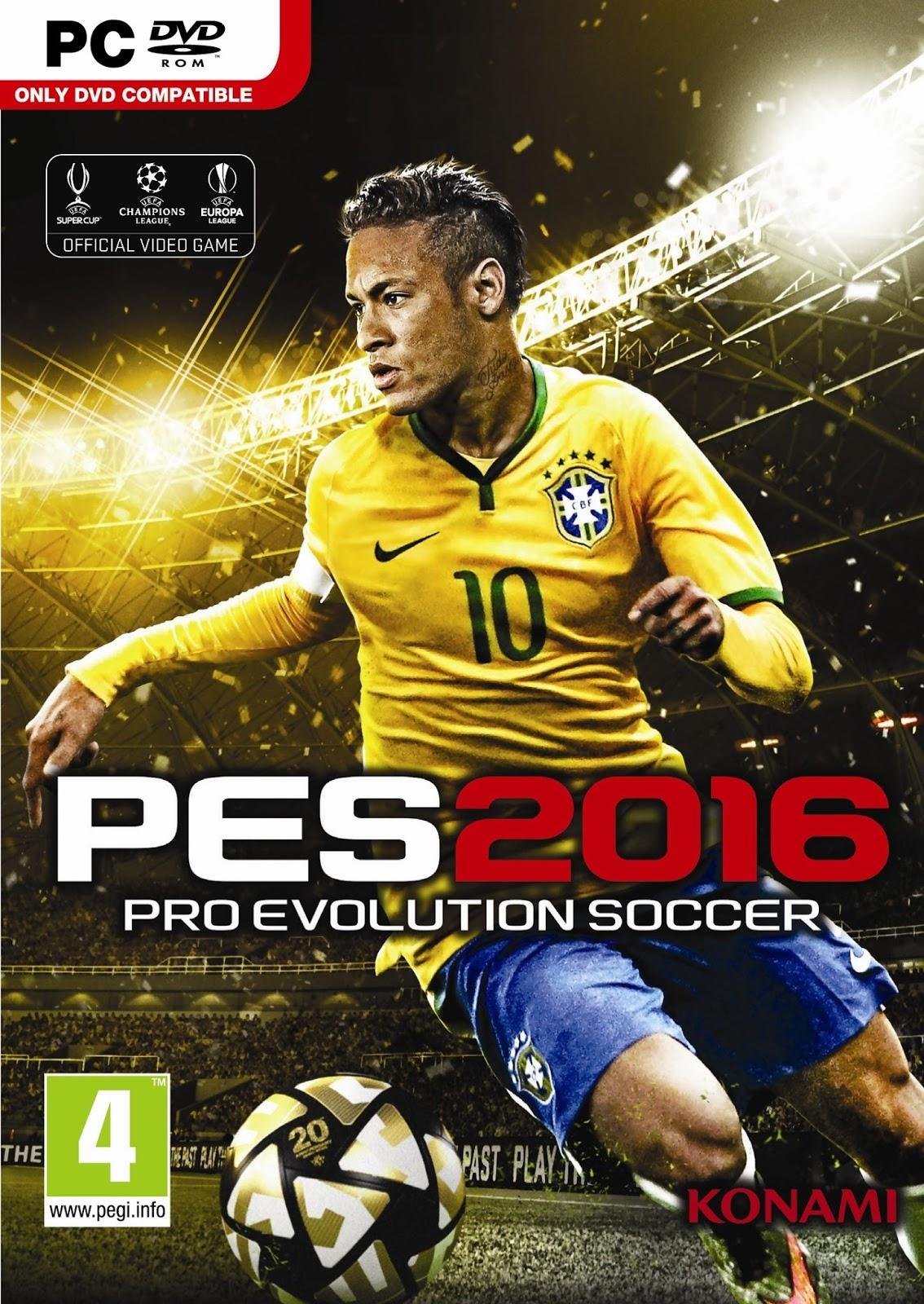 Pro Evolution Soccer 2016 ESPAÑOL PC Full
