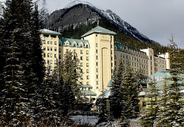 Hotel at Banff National Park