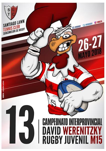 13º Edición del CAMPEONATO DE RUGBY JUVENIL DAVID WERENITZKY