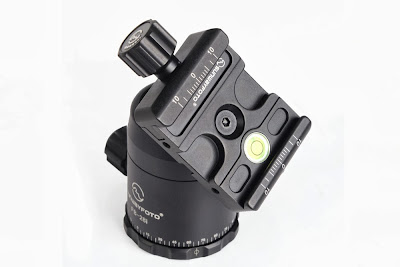 Sunwayfoto FB-28i ball head - QR Clamp detail