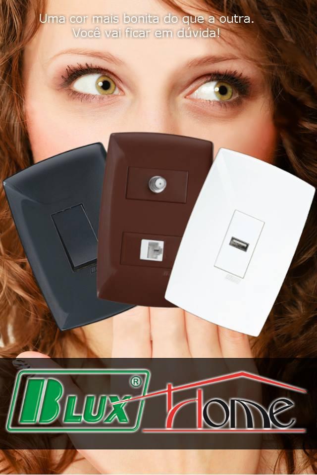 B-Lux Tomadas e Interruptores - Linha Home