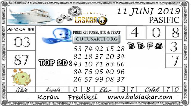 Prediksi Togel PASIFIC LASKAR4D 11  JUNI 2019