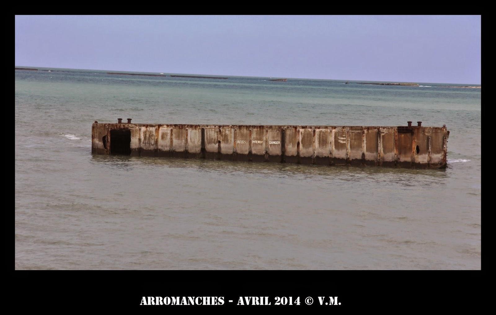 port mulberry arromanches chiffres