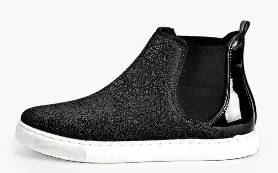 Sparkly Chelsea Boot Sneaker