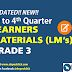 Grade 3 LEARNERS' MATERIALS (1st to 4th Quarter)