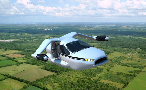Terrafugia TF X, el coche volador