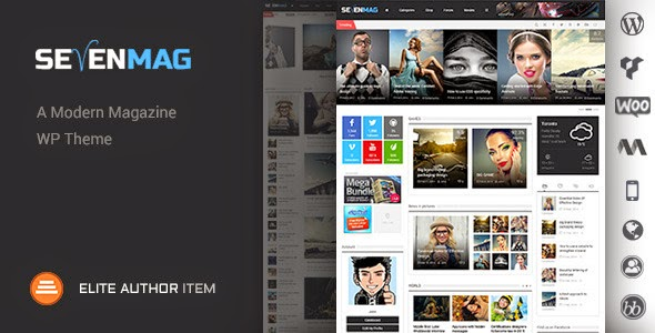 SevenMag v2.1 WordPress Theme