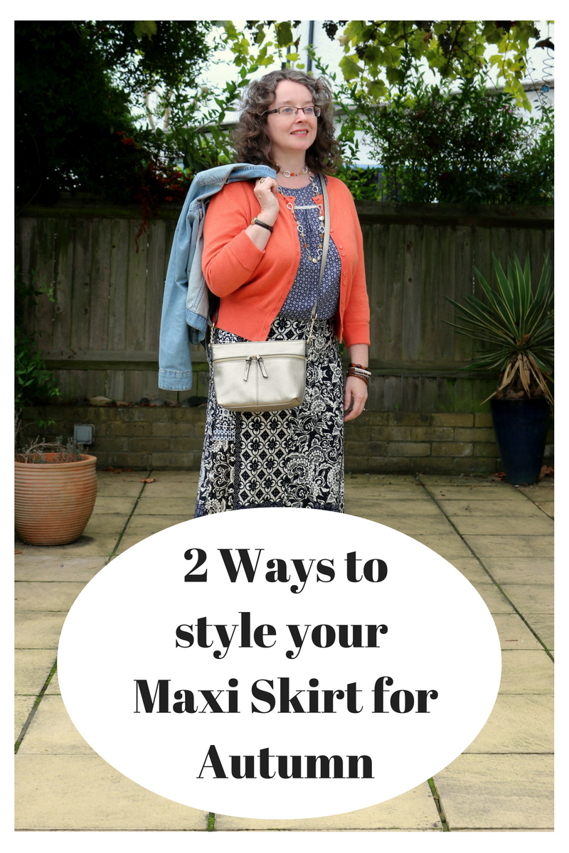 How to style your maxi skirt for Autumn | Petite Silver Vixen