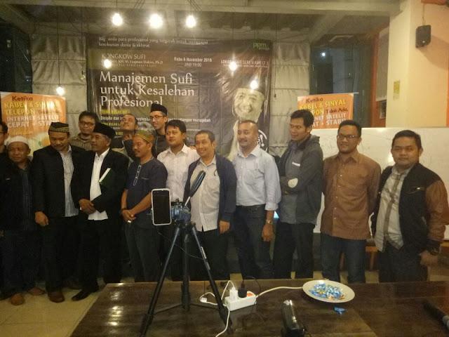 KONGKOW SUFI Edisi Ke-2, Disiplin dan Integritas Profesional melalui proses Muraqabah