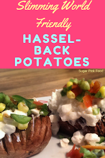 Slimming world hassleback potatoes recipe