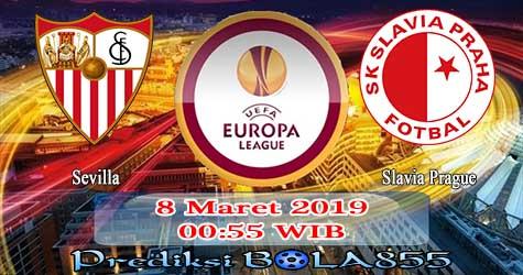 Prediksi Bola855 Sevilla vs Slavia Prague 8 Maret 2019