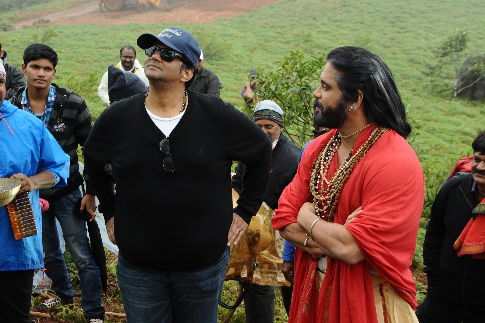 om namo venkatesaya working stills-HQ-Photo-7
