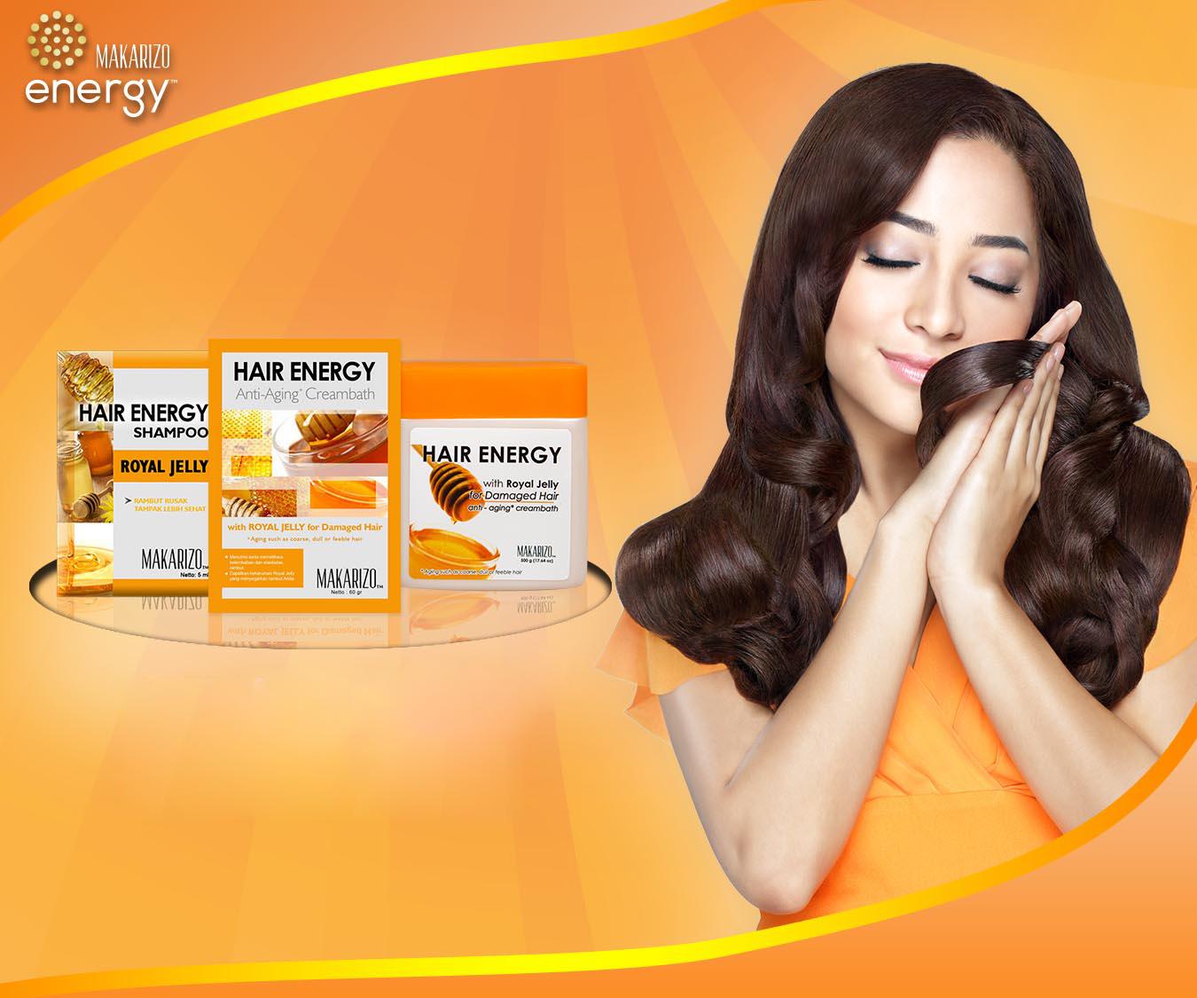 Makarizo Hair Energy Cara Merawat Rambut Rusak dan Rontok 79851d8c51