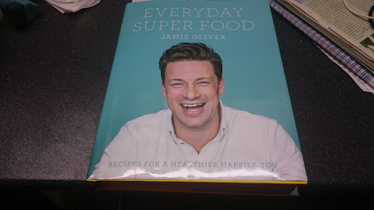 Weekly Feedback. 28/09-03/10/2015. Jamie Oliver 'Everyday Super Food'.