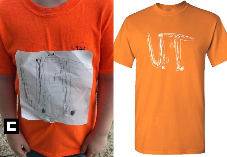 Se burlaron de su camiseta y su diseño se vuelve el oficial de su equipo