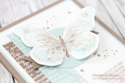 Stampinup Watercolor Wings; Schmetterlingskarte; Glückskarte basteln; Match the Sketch; Stampinup Katalog 2016-2017; Stampinup Rabatt