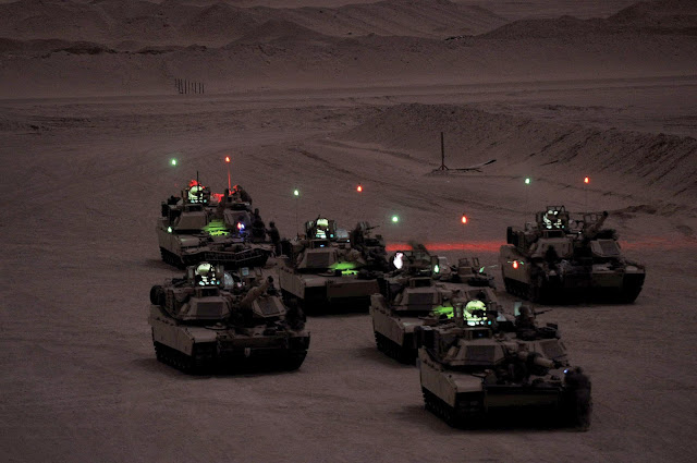 Ρομποτικό «ζευγάρι» για τα Μ1 Abrams;