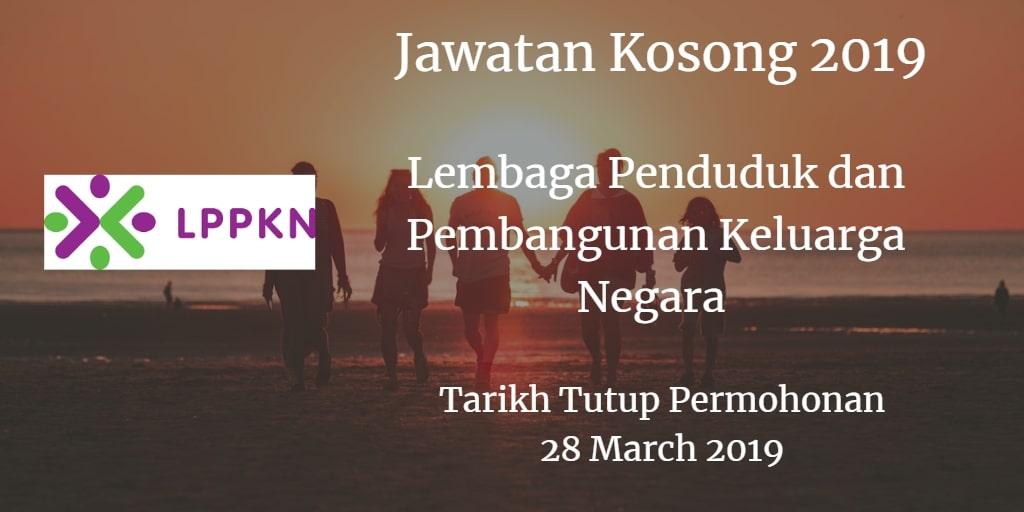 Jawatan Kosong LPPKN 28 March 2019