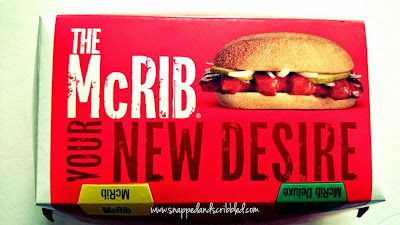 Must Try At McDonald's Philippines: The New McRib