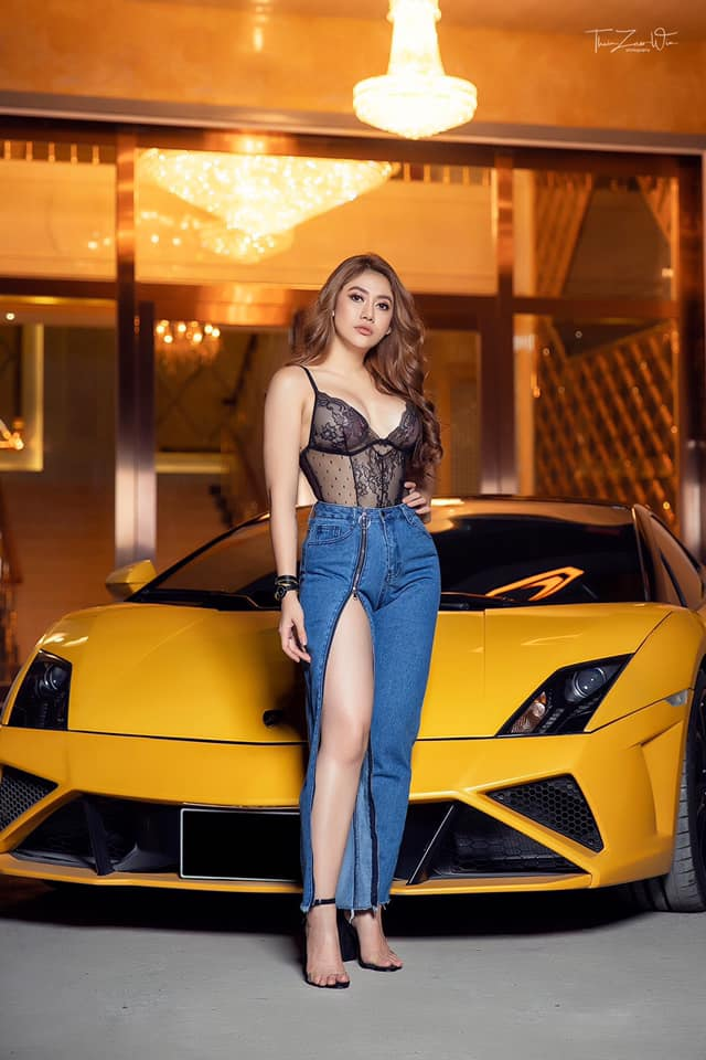 Thinzar Wint Kyaw Diamond Entertainment Commercial Photos