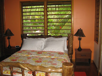 Roatan vacation rental master bedroom