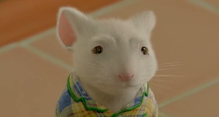 Screen Shot Of Stuart Little 2 (2002) Dual Audio Movie 300MB small Size PC Movie