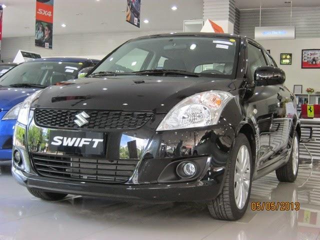suzuki swift màu đen