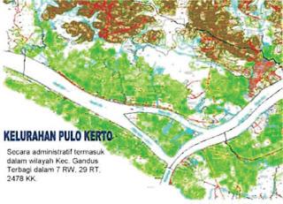 Contoh penentuan lokasi pertanian di Palembang