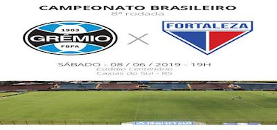 Como assistir Grêmio x Fortaleza ao vivo na TV e online