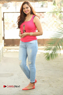 Tollywood Actress Ashwini Latest Stills in Ripped Jeans  0180.JPG