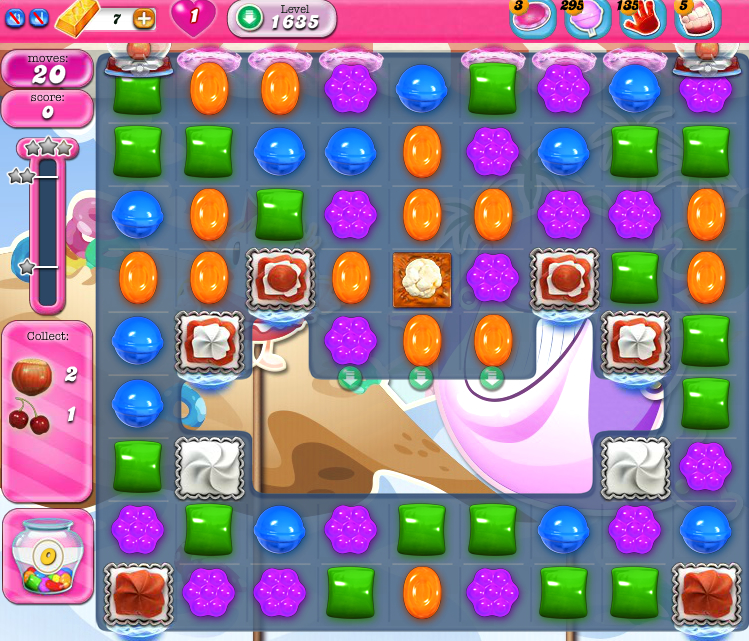 Candy Crush Saga 1635