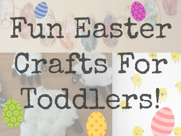 Three Fun Easter Crafts For Toddlers {Kids Craft}