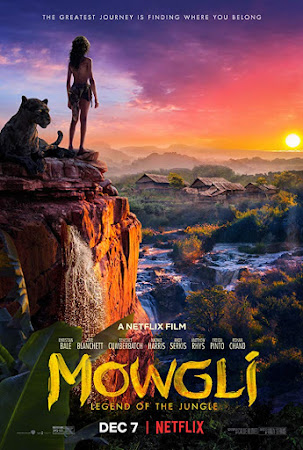 Poster Of Mowgli: Legend of the Jungle In Dual Audio Hindi English 300MB Compressed Small Size Pc Movie Free Download Only At worldfree4u.com