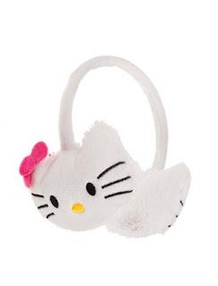 beyaz hello kitty kulaklık