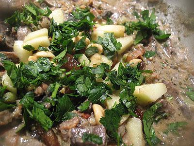 Mughal Mushroom Curry