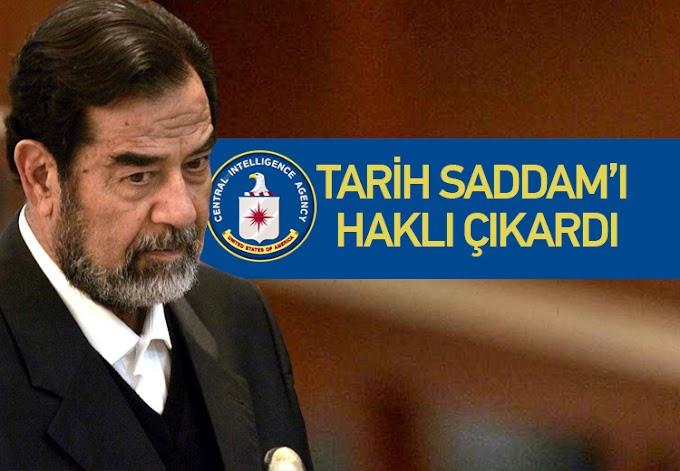 Saddam ile ilgili yıllar sonra ortaya çıkan gerçek