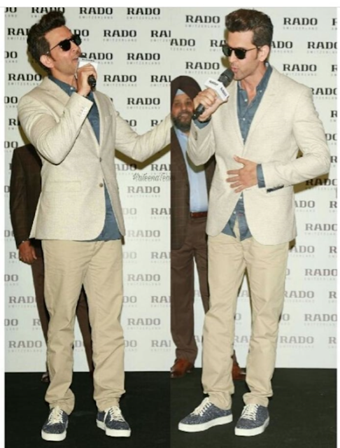 Spotted: Hrithik Roshan in Alberto Torresi Shoes