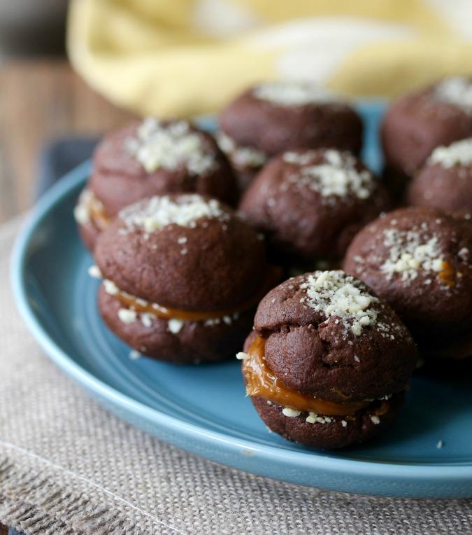 Noche Buena Chocolate Sandwich Cookies