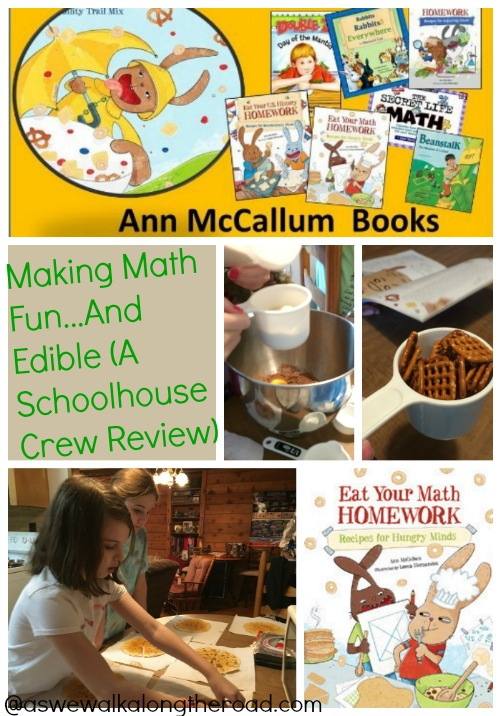 Review of Eat Your Math Homework, hands-on math fun and recipes