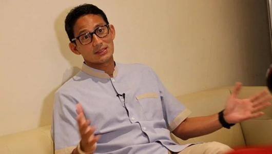 Sandiaga Sebut Korupsi Bupati Kotim Jadi Bukti Ucapan Prabowo