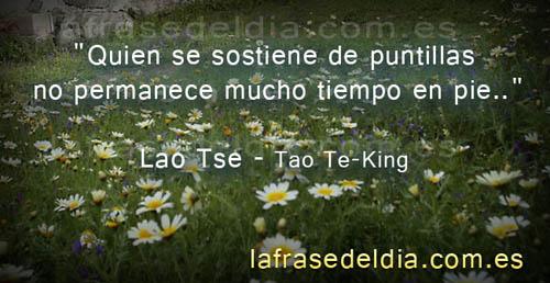 Frases célebres de Lao Tse