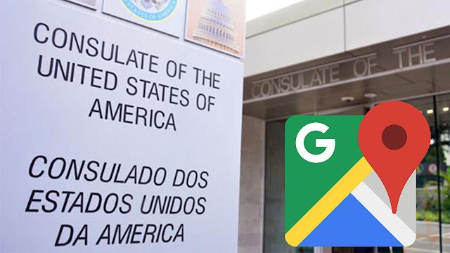 Saiba os Endereços dos Consulados Americanos